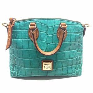 Dooney & Bourke Crocodile Embossed Leather Bag